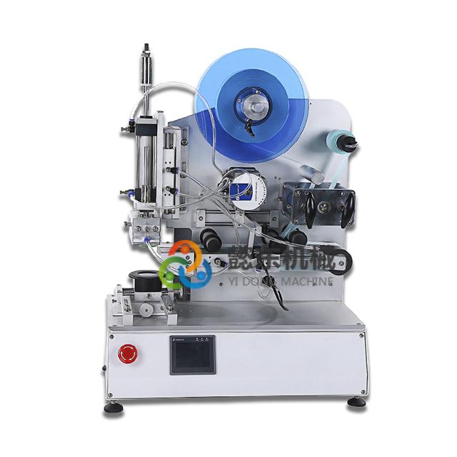 YD202半自动高精度平面贴标机